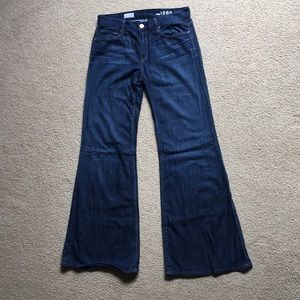 GAP High Rise Trouser Jean Size 30/10